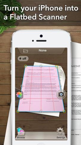 Scanner App scan