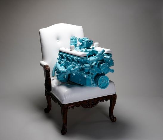Clint Neufeld - Engine on Chair
